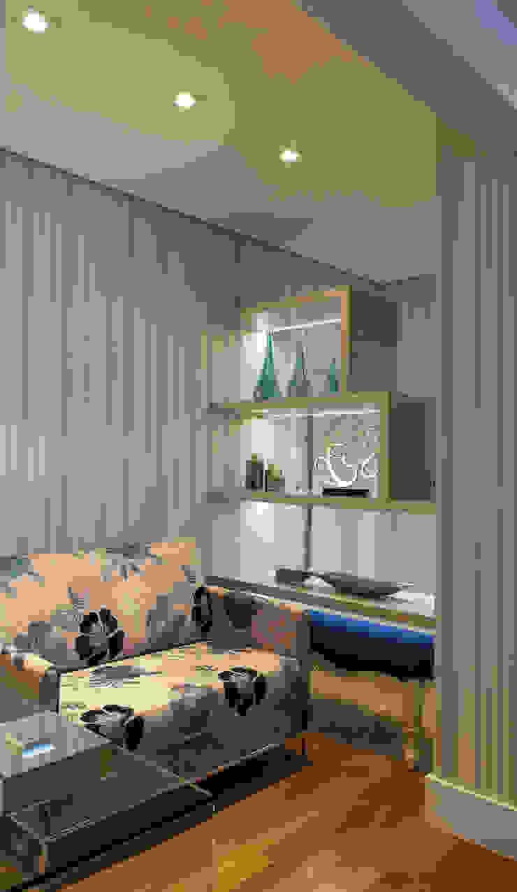 Conforto e Bem Estar Corredores, halls e escadas modernos por Lilian Barbieri Interior Design Moderno