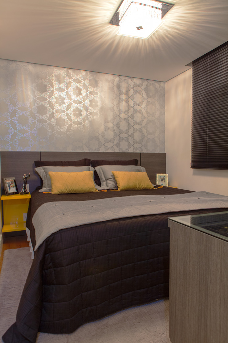 Conforto e Bem Estar Quartos modernos por Lilian Barbieri Interior Design Moderno