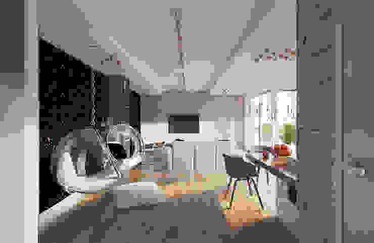 Гостиная в стиле модерн от Creoline Модерн