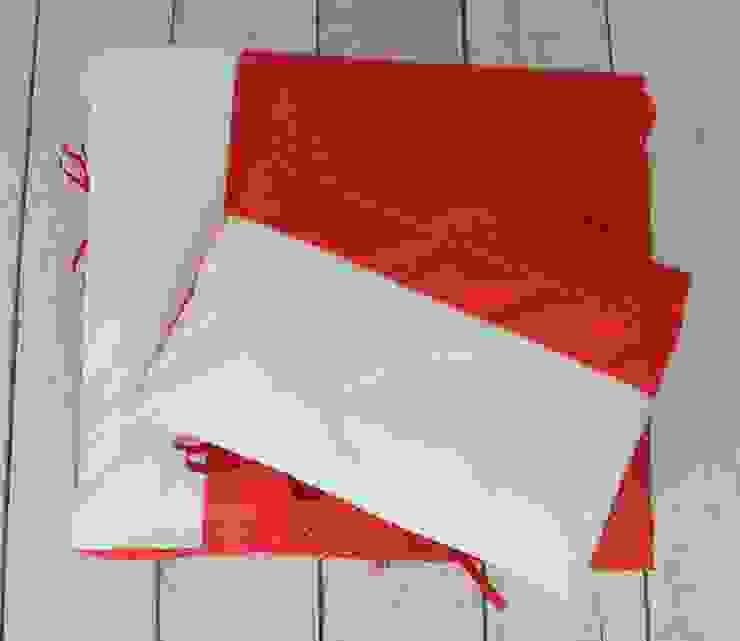 POŚCIEL Czerwone kropeczki od ULULA Klasyczny Bawełna Czerwony
