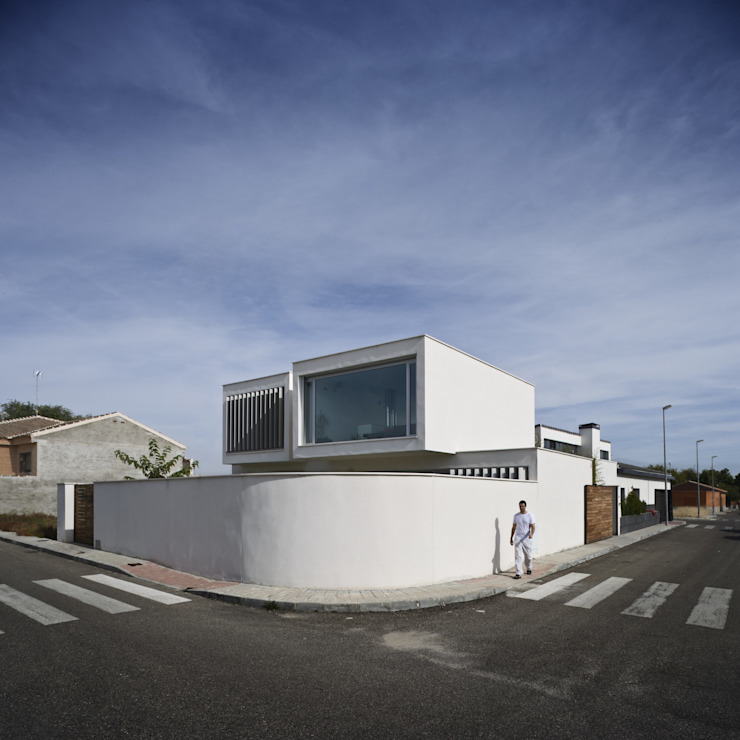 daniel rojas berzosa. arquitecto Casas de estilo minimalista