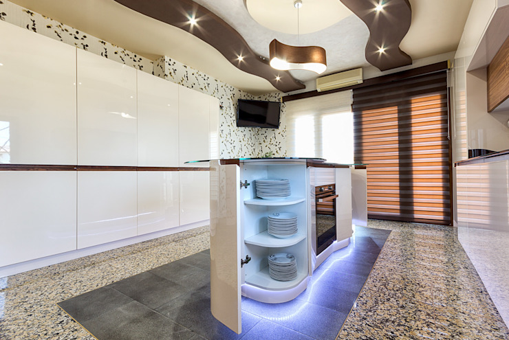 COCINAS CASTILLO KitchenLighting Plastic White