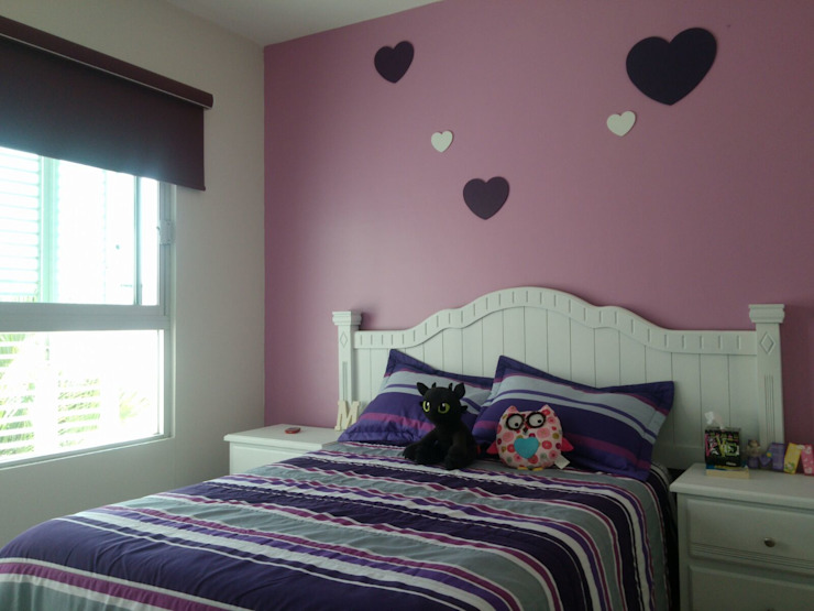 Dormitorios infantiles de estilo minimalista de Constructora e Inmobiliaria Catarsis Minimalista Madera Acabado en madera