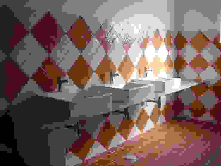 Espaço para Eventos Casas de banho campestres por Gabiurbe, Imobiliária e Arquitetura, Lda Campestre Cerâmica