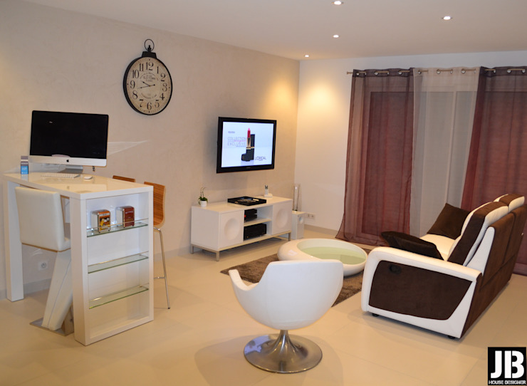 Salas de estilo minimalista de JbHouseDesigner Minimalista