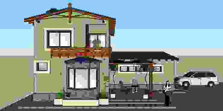 QUINCHO , VIVIENDA PEREIRA de LE PONT Estudio de Arquitectura e Ingenieria Clásico