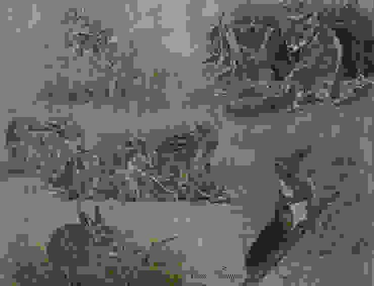 Jonge bos- en velddieren van Wim Romijn Art Landelijk Houtcomposiet Transparant