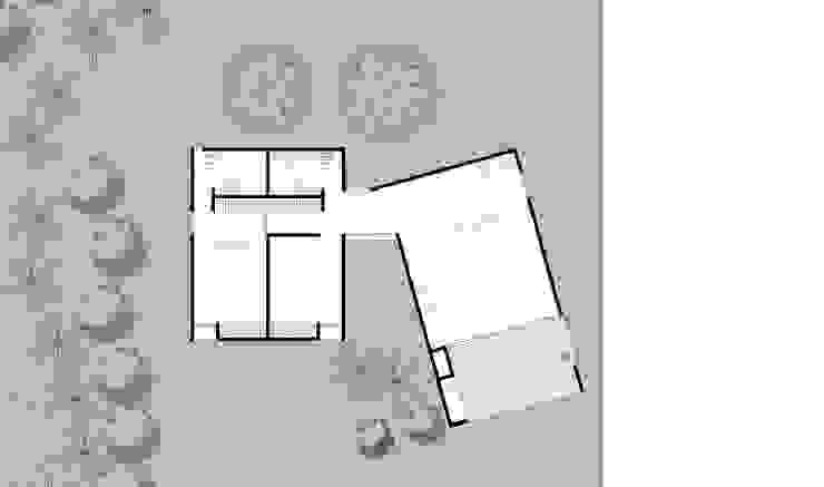 CASA CS de 520 arquitectos Moderno