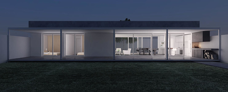 Casa GC Casas modernas: Ideas, imágenes y decoración de 520 arquitectos Moderno