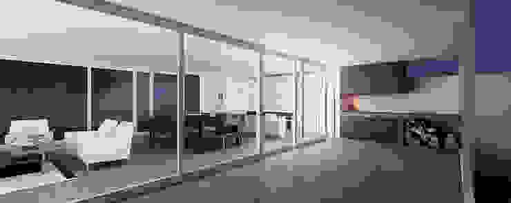 Casa GC Comedores modernos de 520 arquitectos Moderno