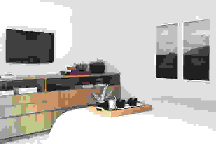 Amanda Carvalho - arquitetura e interiores Kamar Tidur Modern
