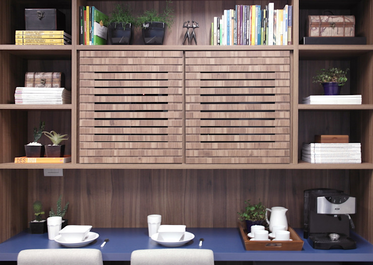 SALA COMERCIAL Escritórios modernos por Amanda Carvalho - arquitetura e interiores Moderno