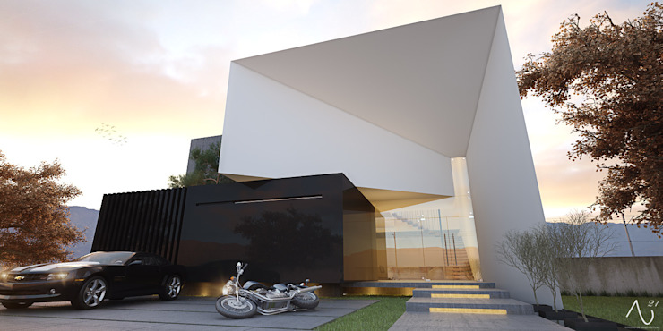 Maisons minimalistes par 21arquitectos Minimaliste