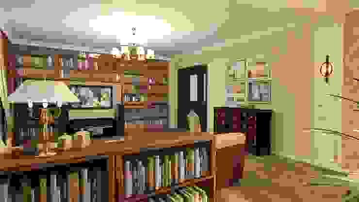 Гостиная Гостиная в классическом стиле от Студия дизайна Ирины Комиссаровой Классический