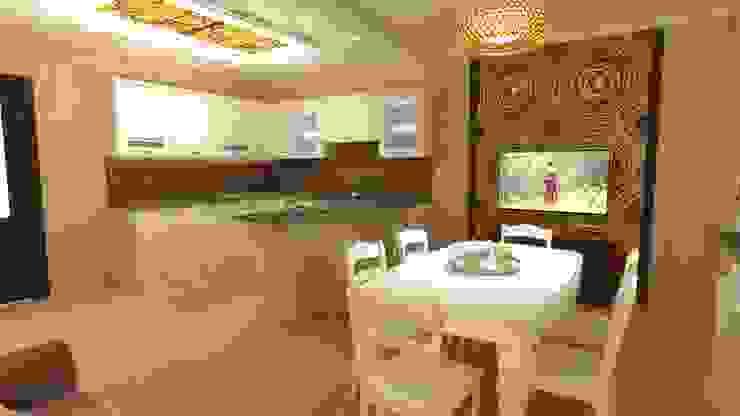 Кухня- столовая. Столовая комната в классическом стиле от Студия дизайна Ирины Комиссаровой Классический