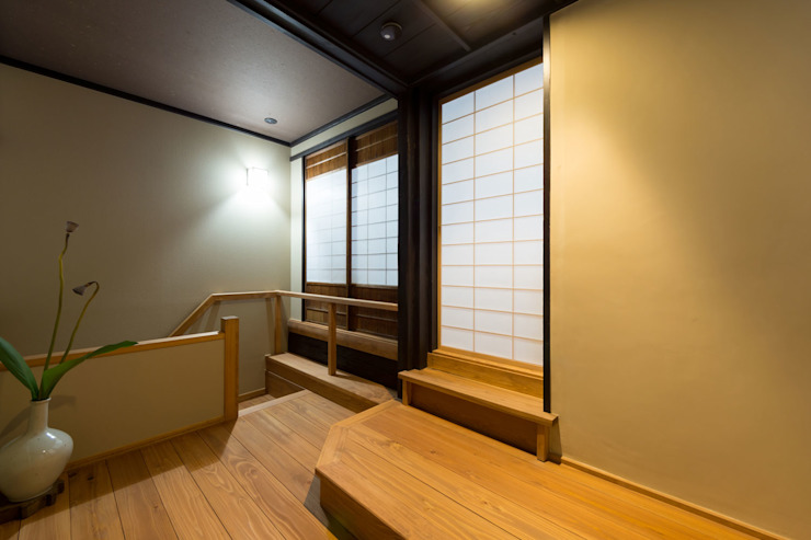 階段ホール の Hayashi Kenchiku-sekkeikoubo