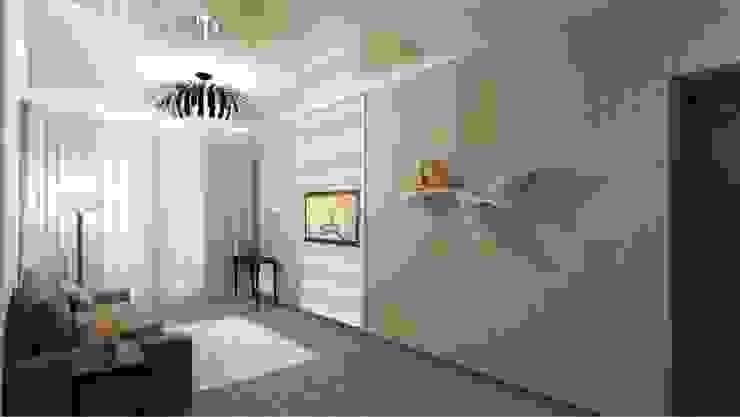 Камерная тональность. Спальня в эклектичном стиле от Студия дизайна Ирины Комиссаровой Эклектичный