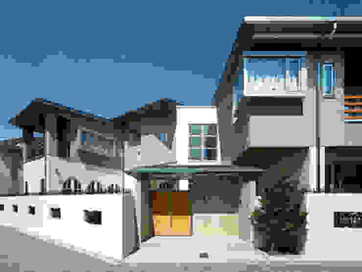 光音寺の家 モダンな 家 の 平野設計 モダン
