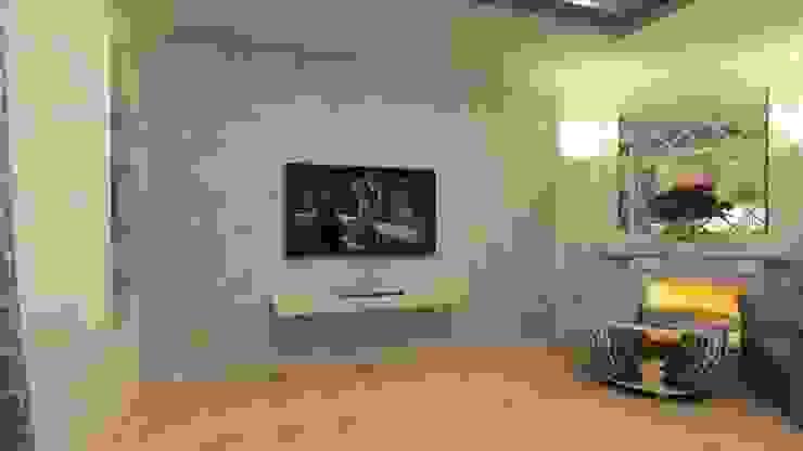 Классика на 50 метрах. Гостиная в классическом стиле от Студия дизайна Ирины Комиссаровой Классический