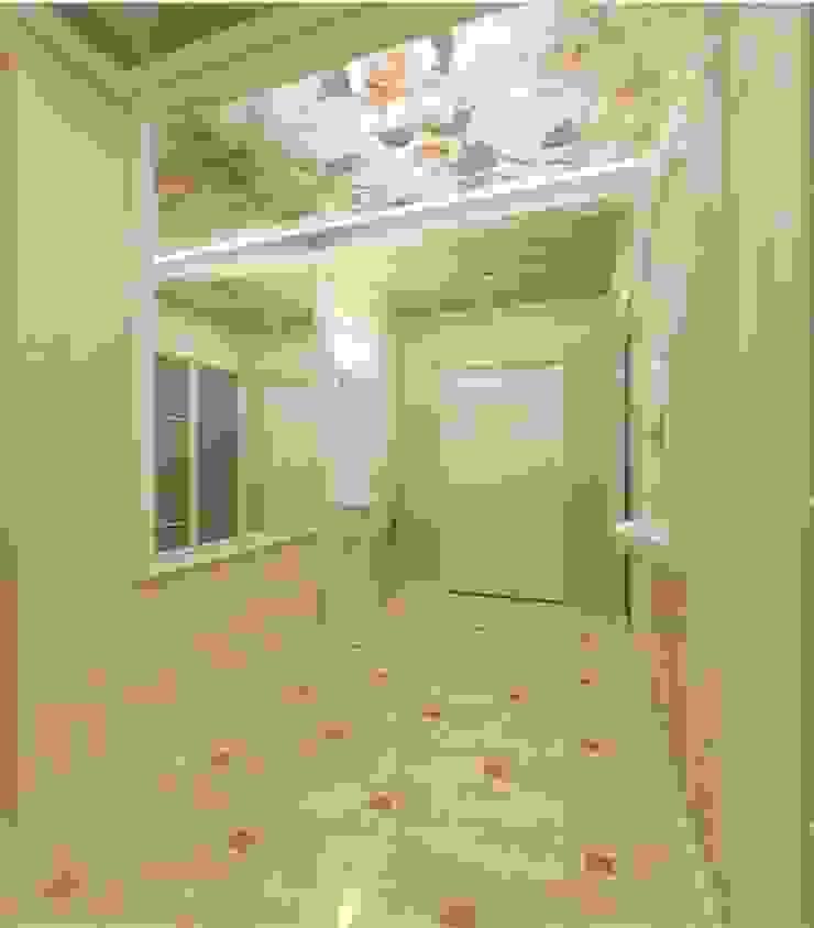 Классика на 50 метрах. Коридор, прихожая и лестница в классическом стиле от Студия дизайна Ирины Комиссаровой Классический