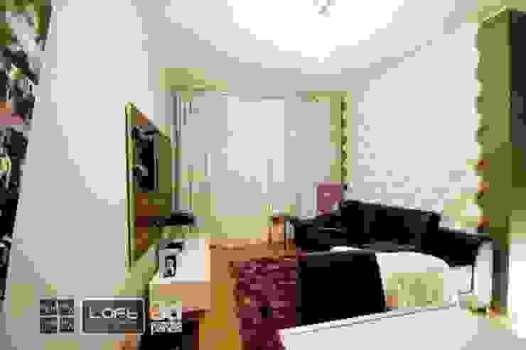 Plaster Panels 3D Loft Design System, Decors 11-20 Paredes e pisos modernos por DecoMania.pl Moderno