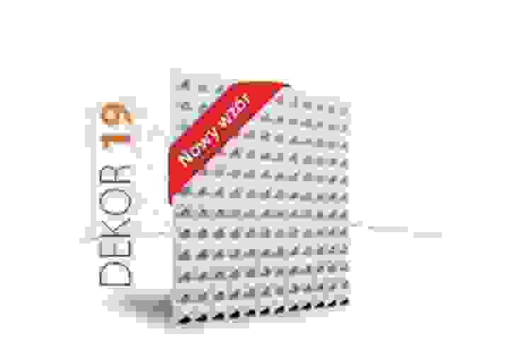 Panele gipsowe 3D Loft Design System, Dekory 11-20 Nowoczesne ściany i podłogi od DecoMania.pl Nowoczesny