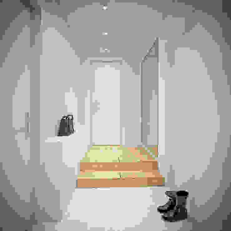 Minimalist Koridor, Hol & Merdivenler YOUR PROJECT Minimalist
