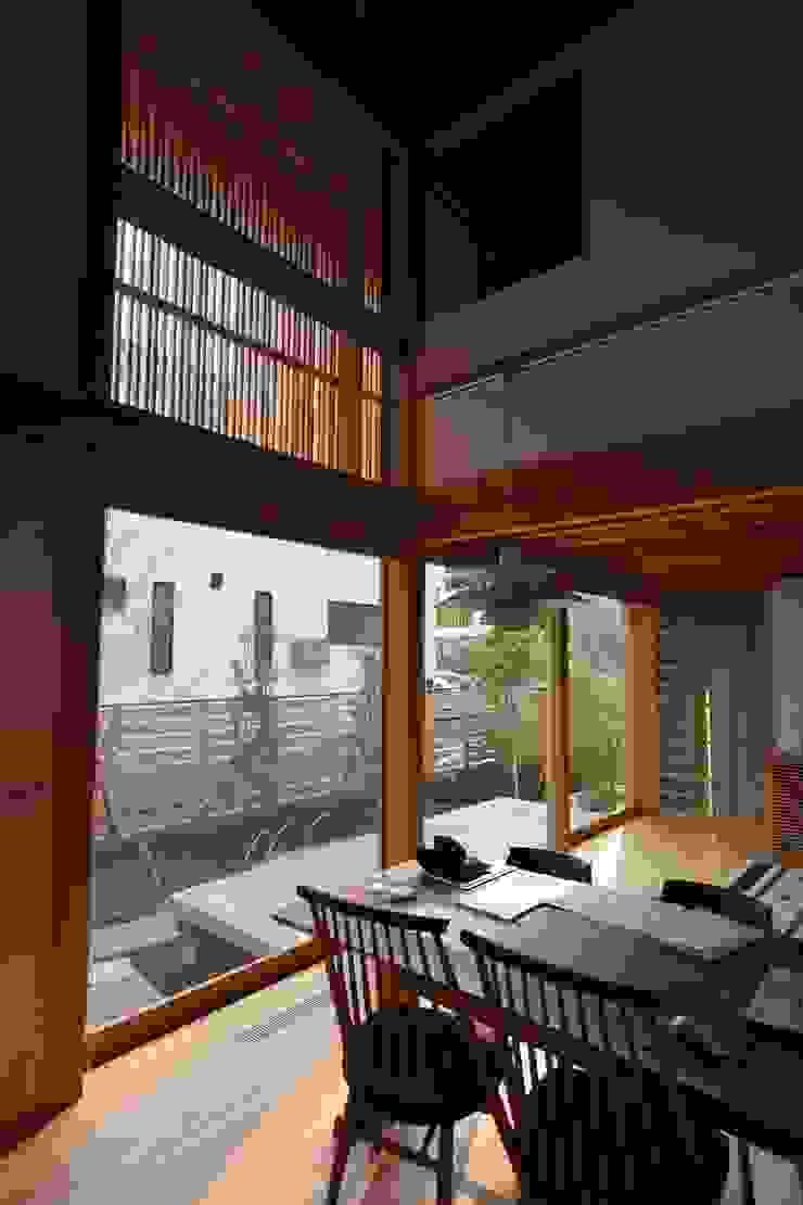 Giardino moderno di 株式会社松井郁夫建築設計事務所 Moderno