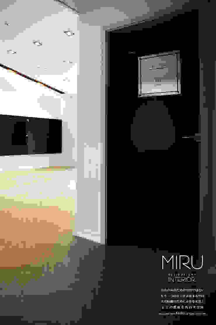 미루디자인 Modern style bedroom