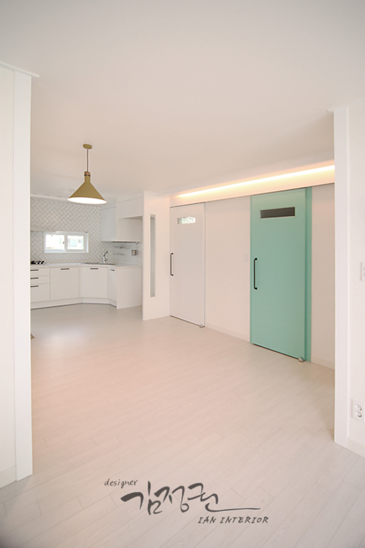 김정권디자이너 Modern Dining Room MDF White