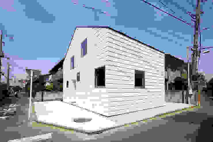 house in saitama 株式会社廣田悟建築設計事務所 ミニマルな 家 白色