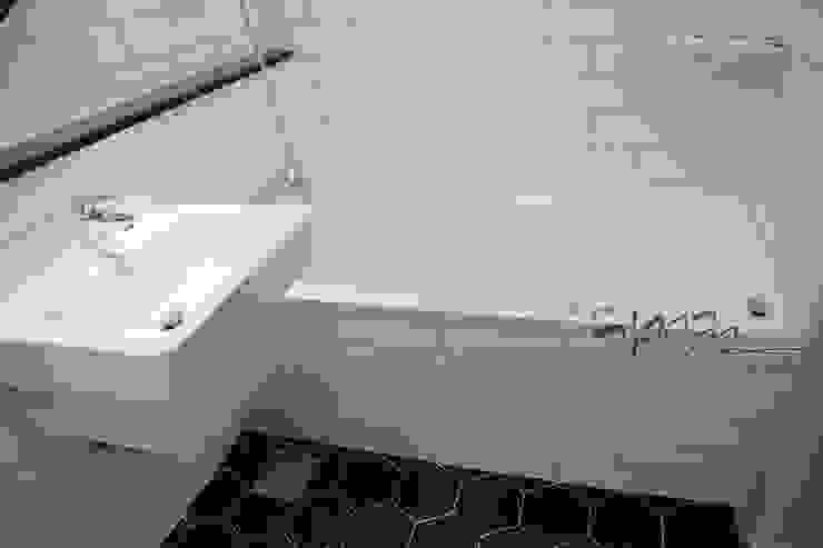 김정권디자이너 Modern Bathroom Marble White