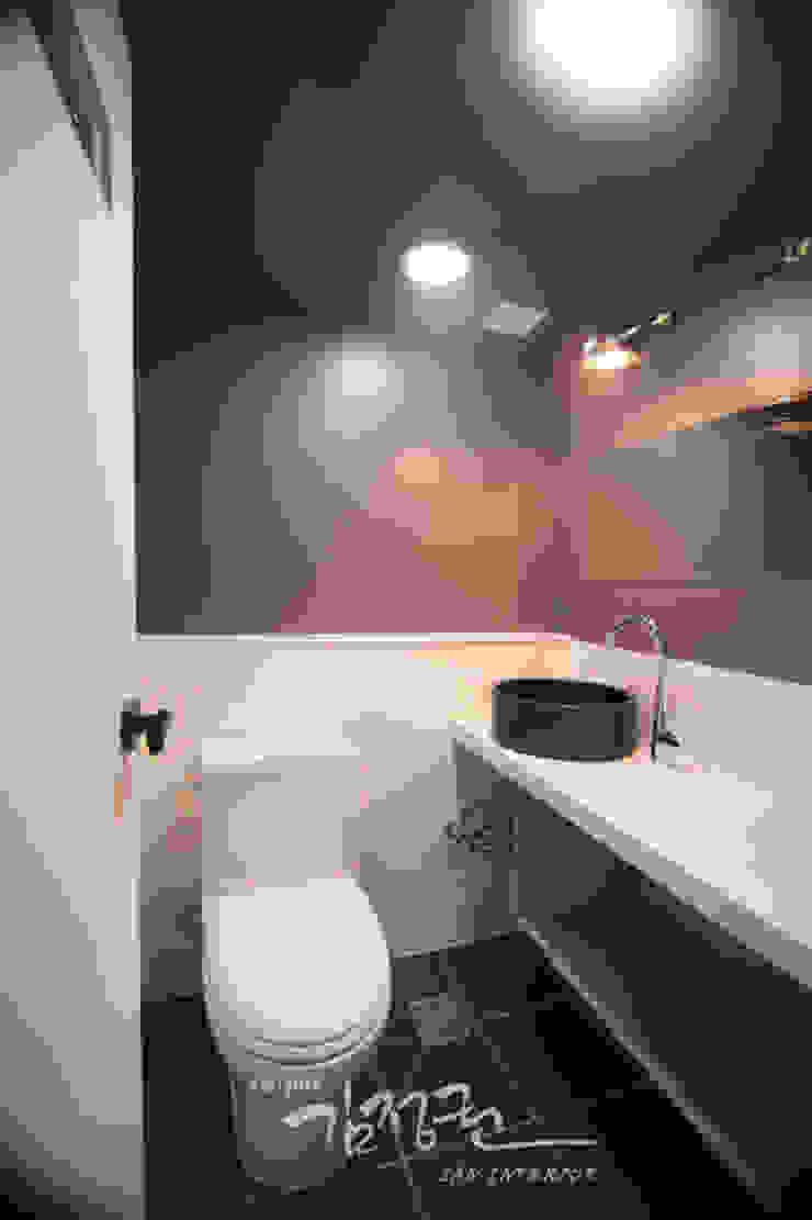 김정권디자이너 Modern Bathroom Porcelain Grey