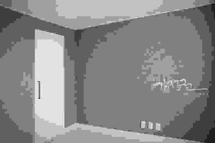 한빛 아파트 모던스타일 침실 by 김정권디자이너 모던 MDF