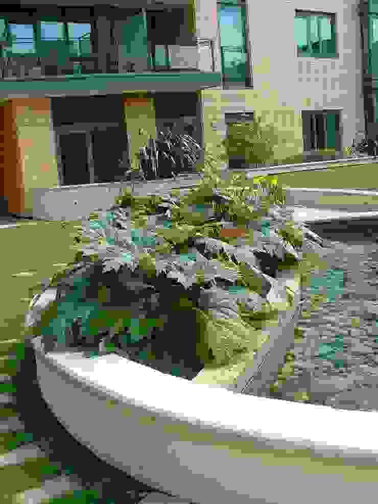 The Pavilion, London Moderner Garten von Bowles & Wyer Modern