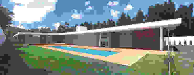 Casas modernas: Ideas, imágenes y decoración de A.As, Arquitectos Associados, Lda Moderno