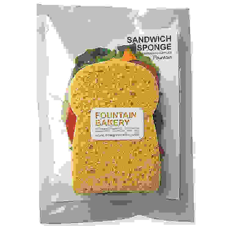샌드위치스폰지 (Sandwich sponge): fountain studio의 현대 ,모던 천연 섬유 베이지