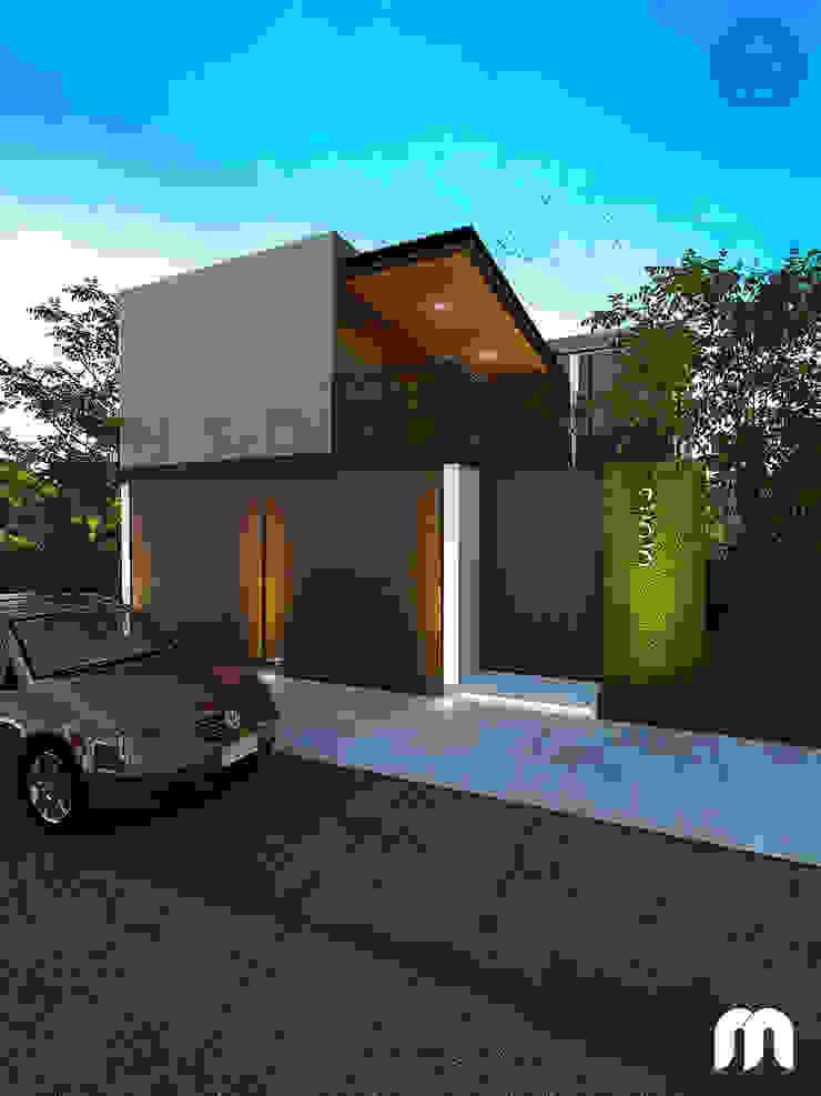 Casa Casas modernas de Armonía arquitectos Moderno