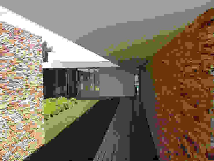 Pátio interior: Jardins de Inverno  por A.As, Arquitectos Associados, Lda,Moderno
