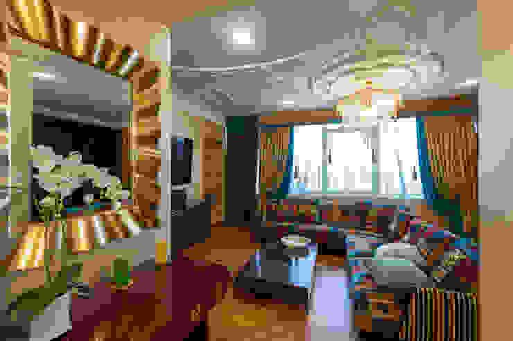 Квартира в современном стиле: Гостиная в . Автор – ARTteam, Классический
