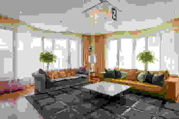 Квартира в современном стиле Гостиная в классическом стиле от ARTteam Классический
