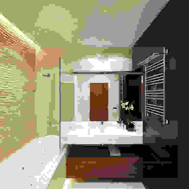 12 квартал Ванная комната в стиле минимализм от Y.F.architects Минимализм