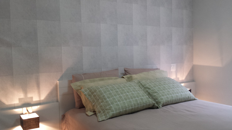 CASA CONDOMÍNIO FECHADO - SBC Quartos modernos por Trends Casa Arquitetura e Design Moderno Papel