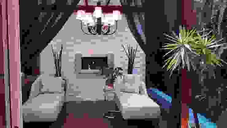 CASA CONDOMÍNIO FECHADO – SBC Spa moderno por Trends Casa Arquitetura e Design Moderno Madeira maciça Multi colorido