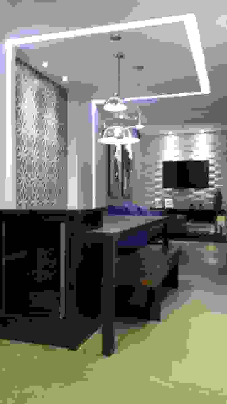 CASA CONDOMÍNIO FECHADO – SBC Varandas, alpendres e terraços modernos por Trends Casa Arquitetura e Design Moderno