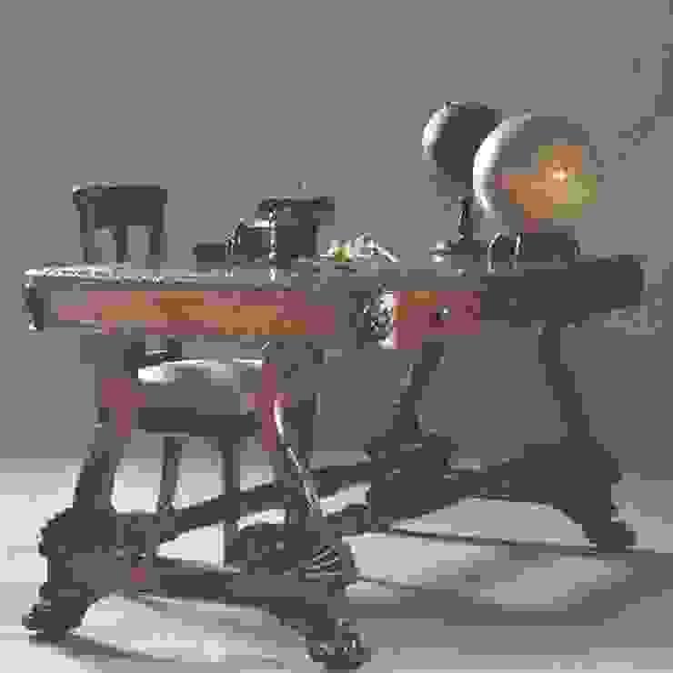Antieke bureaus / Engels William IV Librarytable / bureau ca. 1835 Palissander (No803001) van De Dubbele Deur AntiekSite.nl Klassiek Hout Hout
