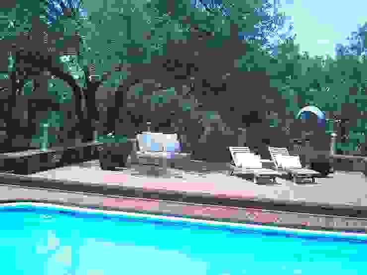 Pool Área Barrenechea – Santiago Albercas modernas de Moya-Arquitectos Moderno