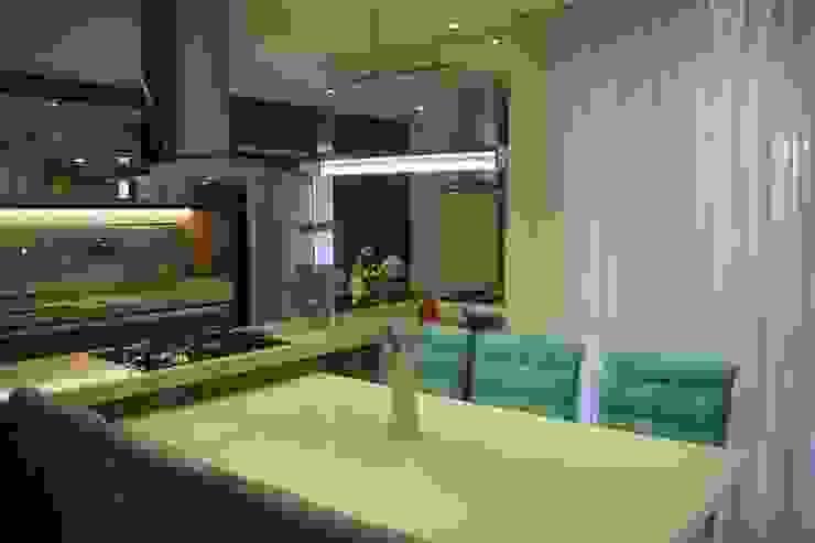 Cozinha Integrada Padoveze Interiores Cozinhas modernas