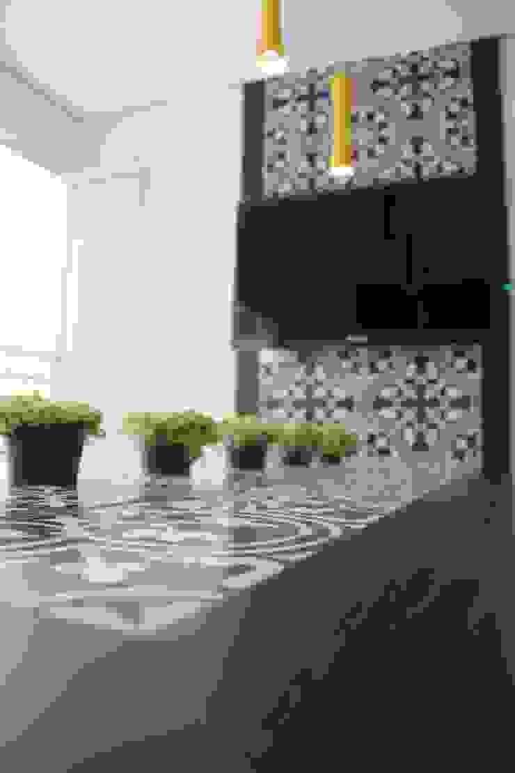 Varanda Gourmet Varandas, alpendres e terraços modernos por Padoveze Interiores Moderno