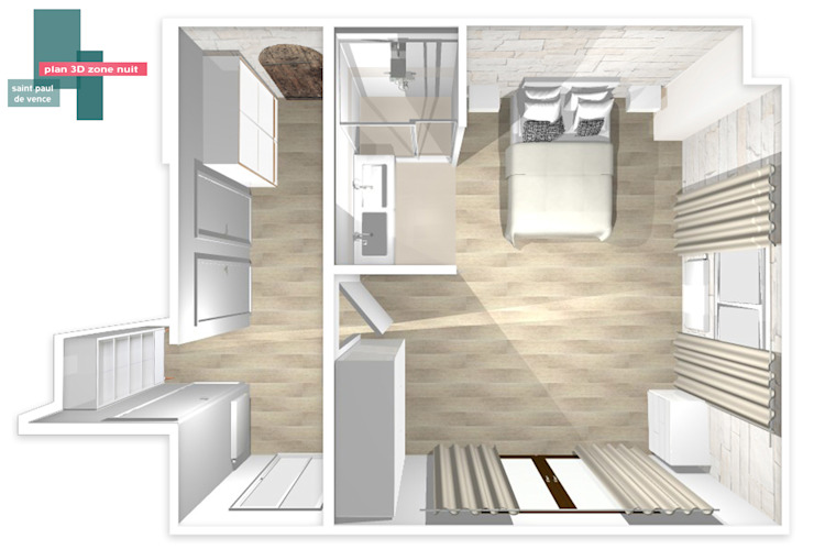 Dormitorios de estilo  por homify , Moderno